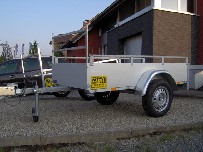 Ongeremde aanhangwagens - West-Vlaanderen