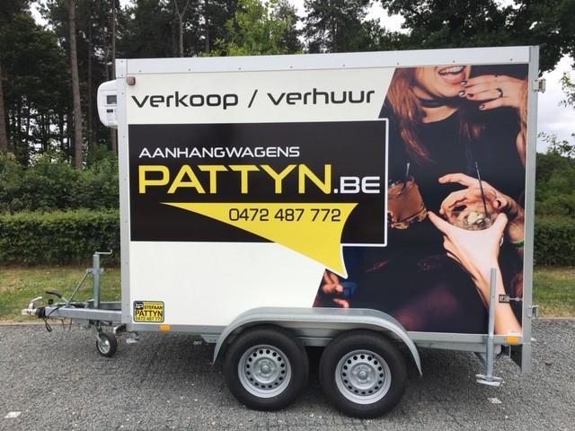 Huren koelwagen weekend - Aanhangwagens stefaan Pattyn