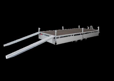 Hulco - Medax - 3-as - met rijplaten - Aanhangwagens Stefaan Pattyn
