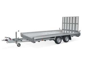 Terrax tandem - Hulco aanhangwagen